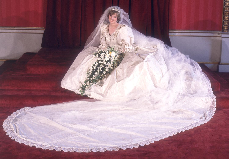 princess diana wedding dress harley davidson wedding dresses Princess Diana s Wedding Dress