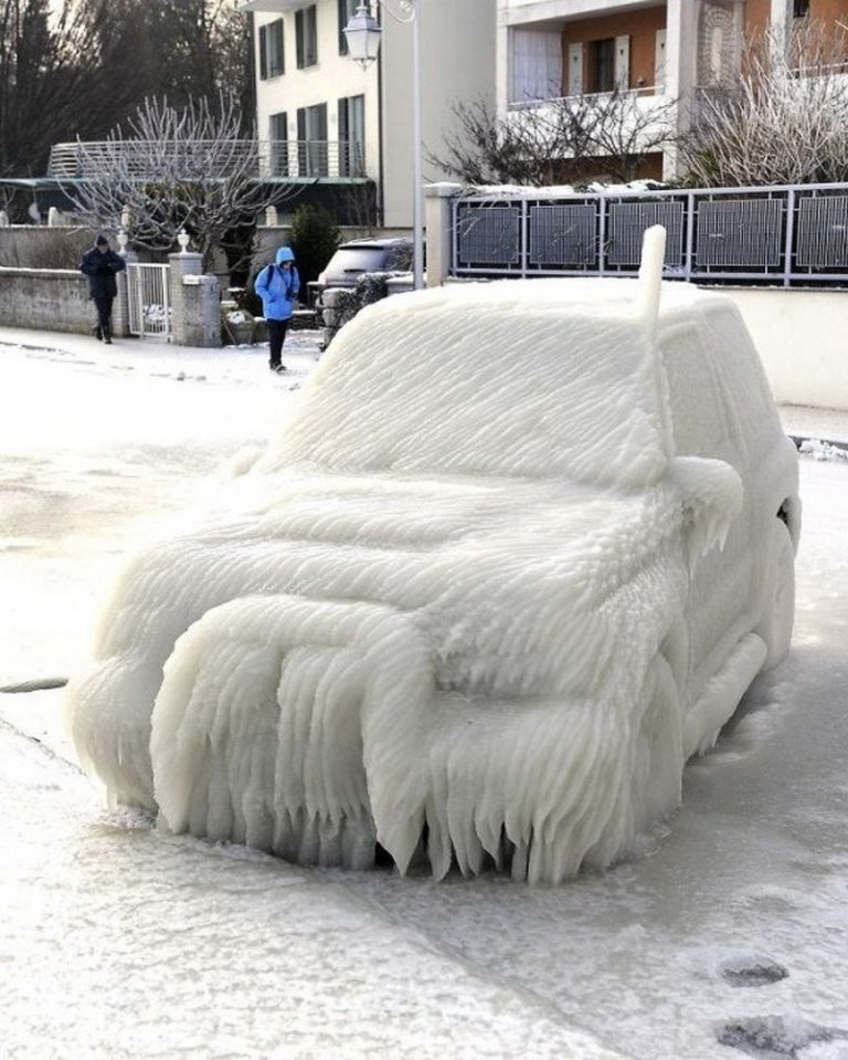 Прикольная Реальность Зимних Морозов