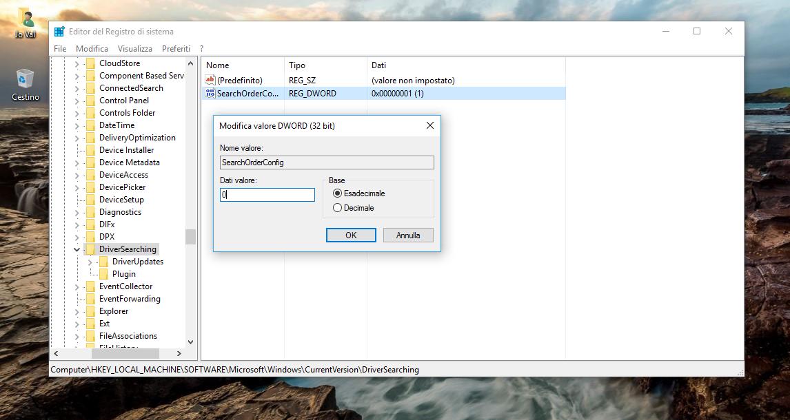 Come evitare l'installazione di nuovi Drivers in Windows 10 HTNovo 3