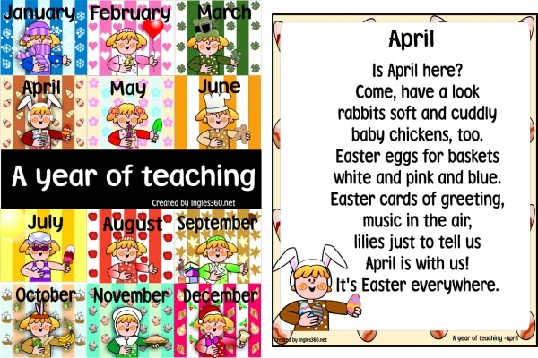 Classroom Freebies April Is Almost Here