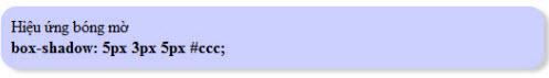 Bo góc và đổ bóng với thẻ DIV dùng CSS
