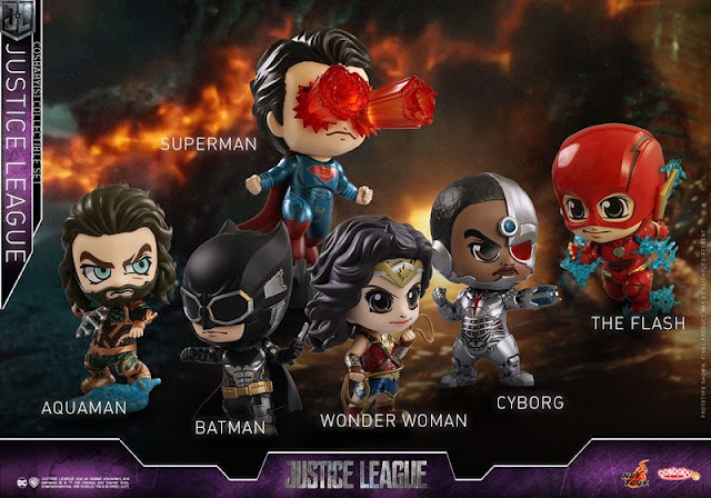 Justice League Cosbaby dari Hot Toys Terungkap di Comic Con 2017