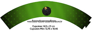 Wrappers para Cupcake de Cat Noir.
