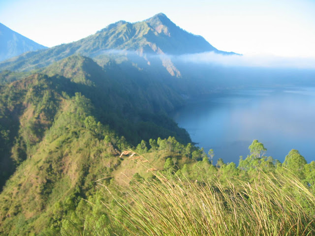 Batur Caldera is The fresh air from the mountain combined with dizzy view is best enjoyed by cycling around the village or trekking