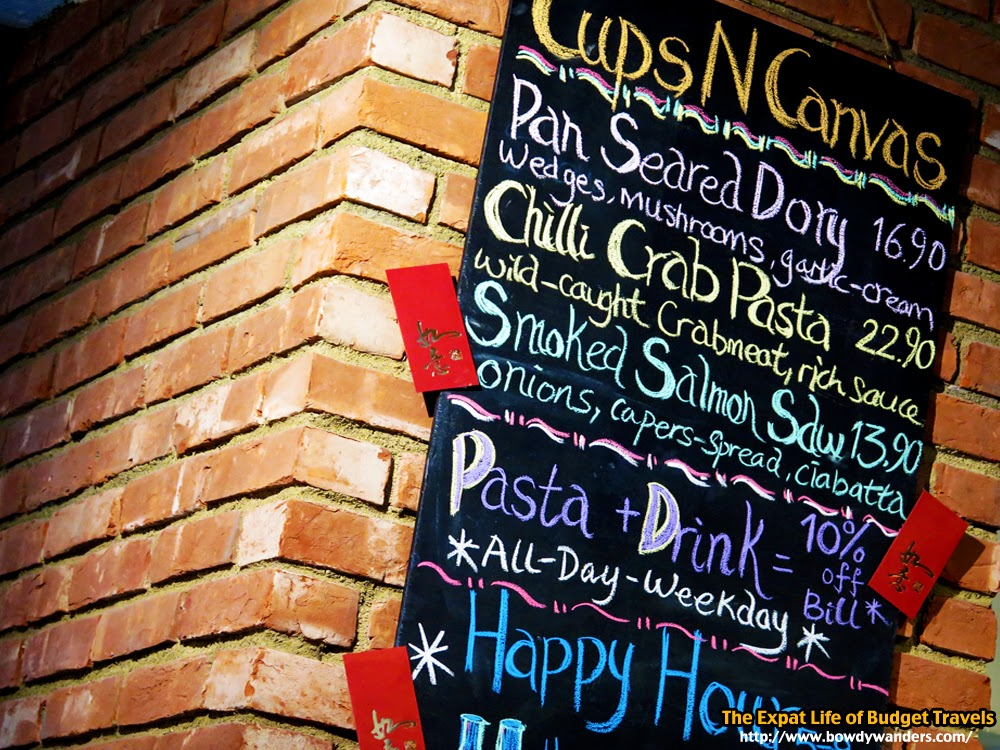 bowdywanders.com Singapore Travel Blog Philippines Photo :: Singapore :: Cups n Canvas, Selegie