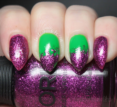 funky fingers limelight orly bubbly bombshell