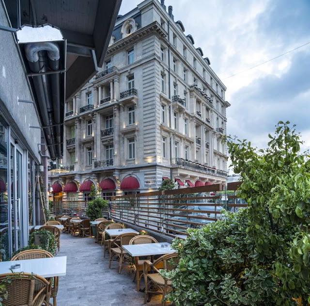 مطعم فندق ذا مرمرة بيرا اسطنبول