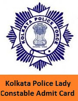 Kolkata Police Lady Constable Admit Card