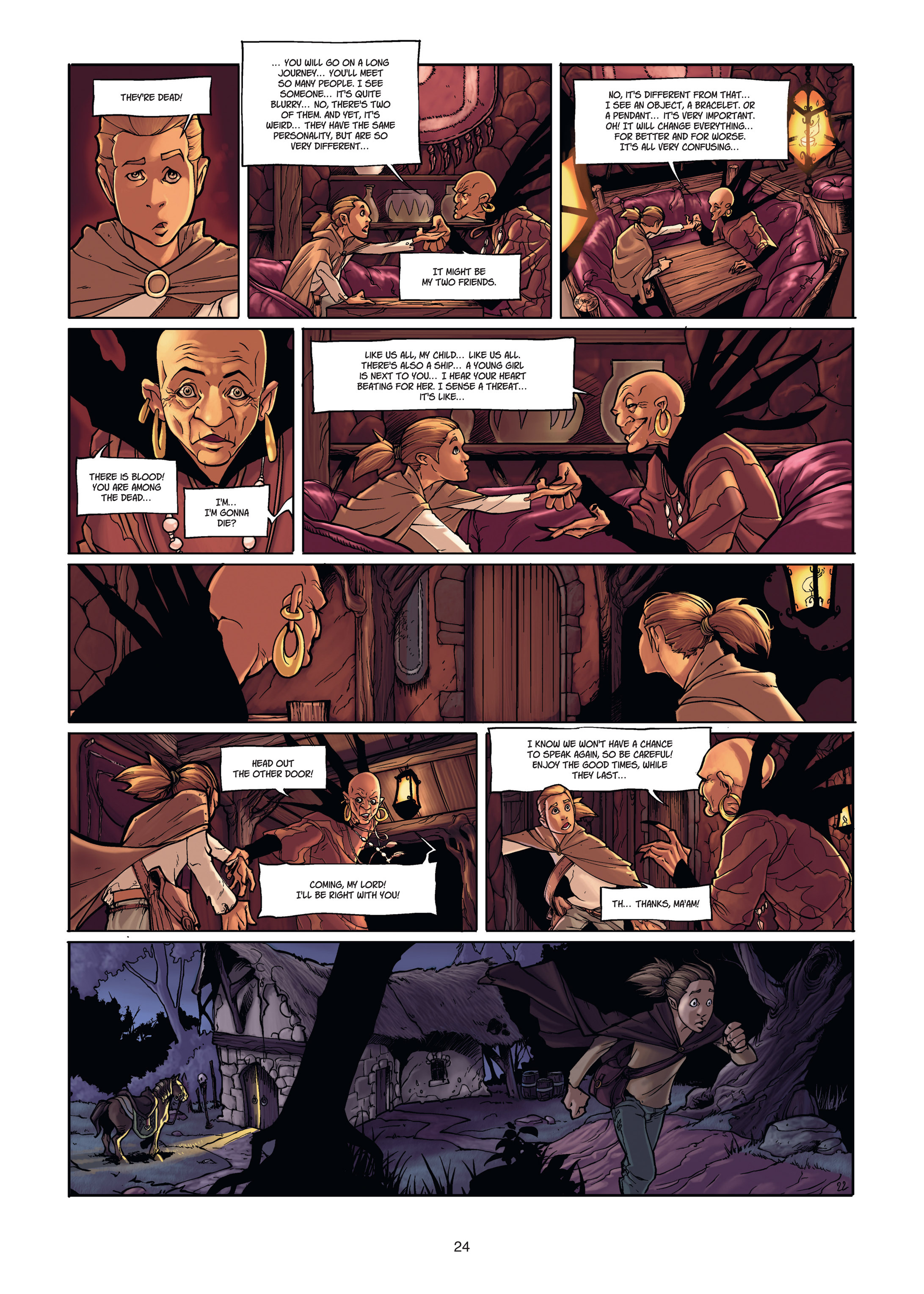 Read online Angor comic -  Issue #1 - 24