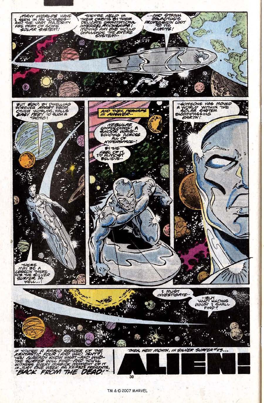Read online Silver Surfer (1987) comic -  Issue #22 - 32