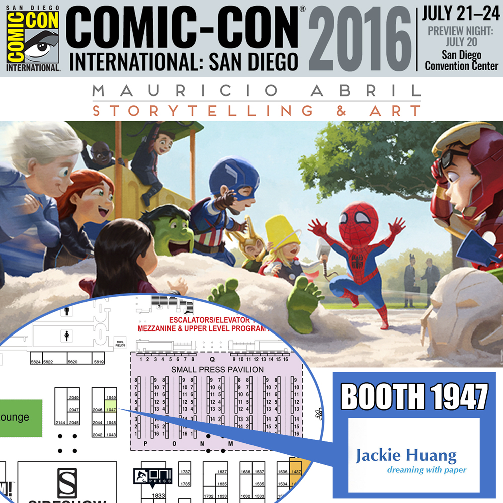 Free Comic Book Day San Diego: The Art Of Mauricio Abril: San Diego Comic Con