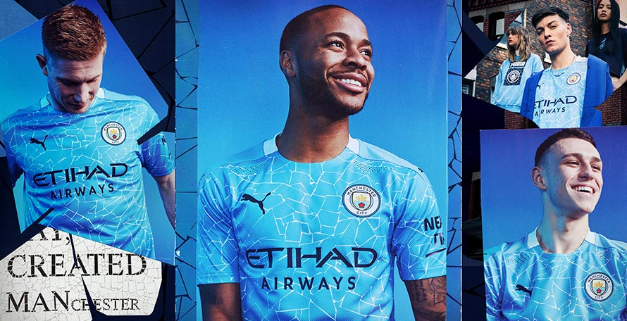 Manchester City 20-21 Home Kit Released - Footy Headlines