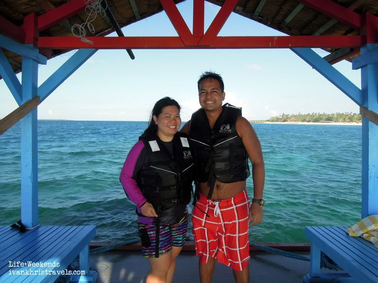 Boat ride at Honda Bay, Palawan