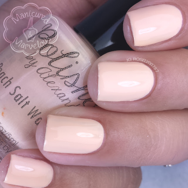 Polished By Alexandra - Peach Salt Water Taffy