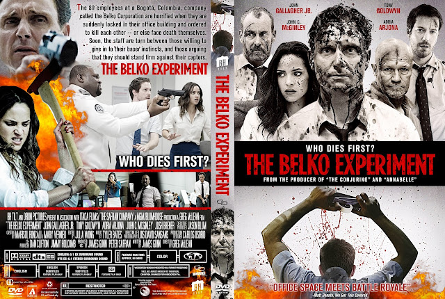 The Belko Experiment DVD Cover