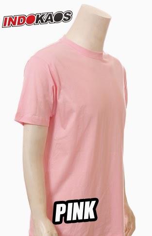 Kaos Polos Pink