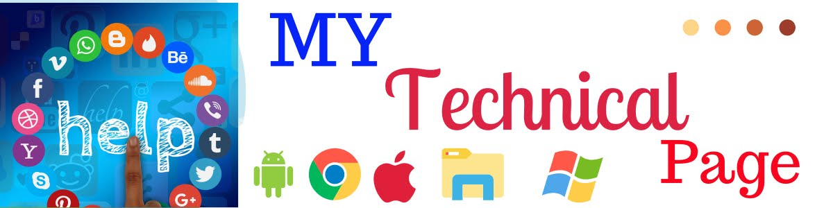 My Technical Page- Hindi Tech Blog