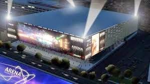 Arena Ciudad de Mexico vista de afuera