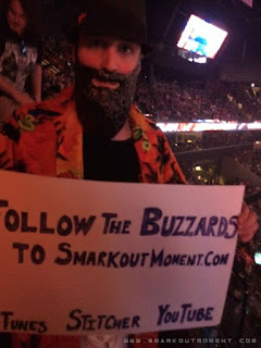 Sign Me Up wrestling audience signs Smark Out Moment promotion