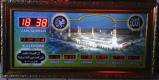 Jam Sholat Digital Subang