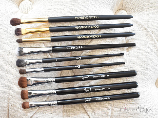 Dolce & Gabbana Eyeshadow Brush Review Dior Sigma