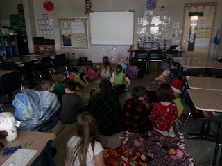 Pajama Party and Polar Express- move all the desks and watch the movie on the last day of school