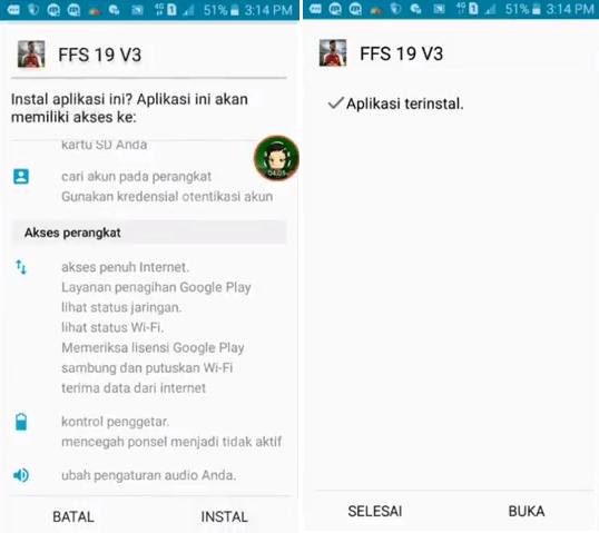 Cara Install Game FTS Di Android Terlengkap