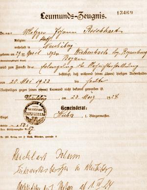 Johann Reichhert el verdugo de Hitler
