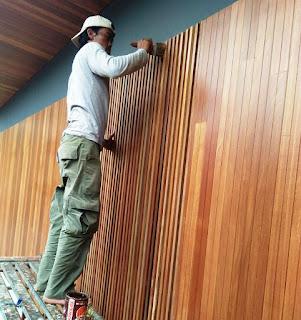 lumberceiling kayu