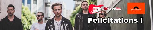 gagnants concours OneRepublic nouvel album rocknlive blog
