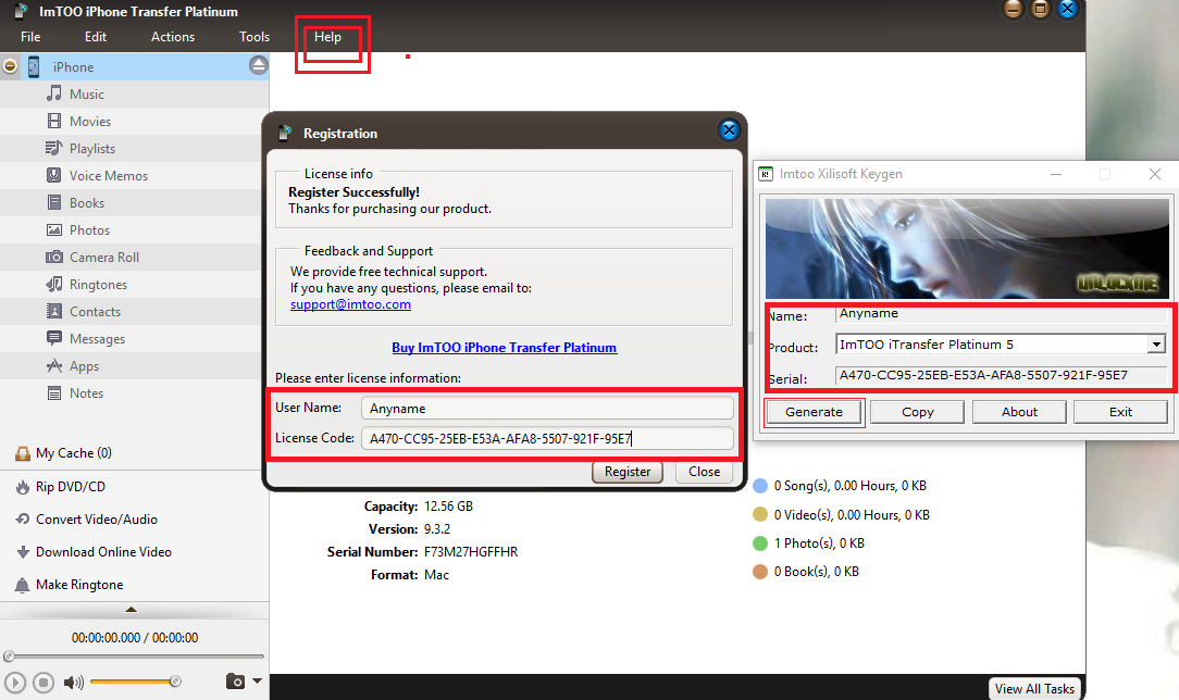 ImTOO iTransfer Platinum 5.7.21 Full Key, Phần mềm không thể thiếu cho iPhone,Ipad