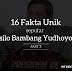 16 Fakta Unik dan Menarik seputar Presiden SBY (Part 2)