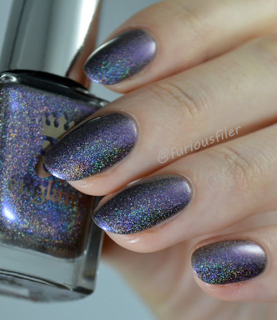 a england russian sould swatch holographic metallic