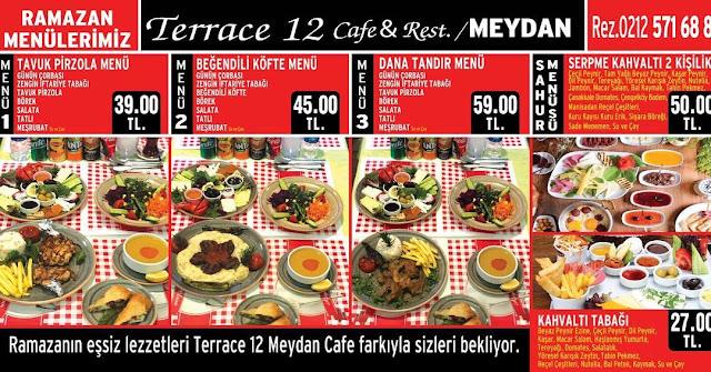 meydan 12 bakırköy iftar mekanları bakırköy iftar menü fiyatları bakırköy sahur mekanları