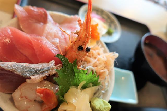 ハウステンボス 牧原鮮魚店 海鮮丼