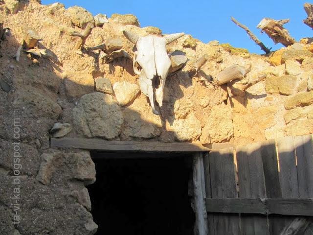 Кара-Тобе, помещение для скота