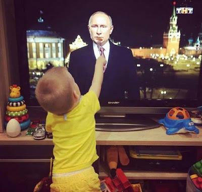 Ταΐζει τον Πούτιν