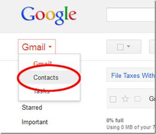 Cara Mengembalikan Kontak Yang Tersimpan Di Akun Gmail