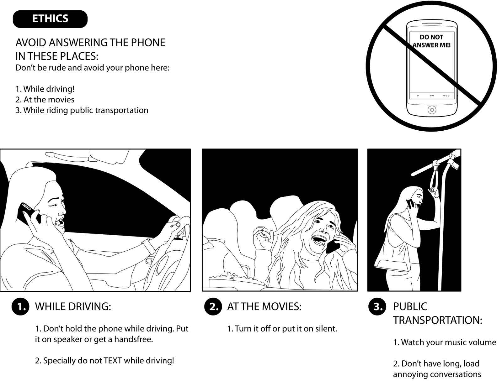 Learn By Diagram Learn Some Cellphone Etiquette