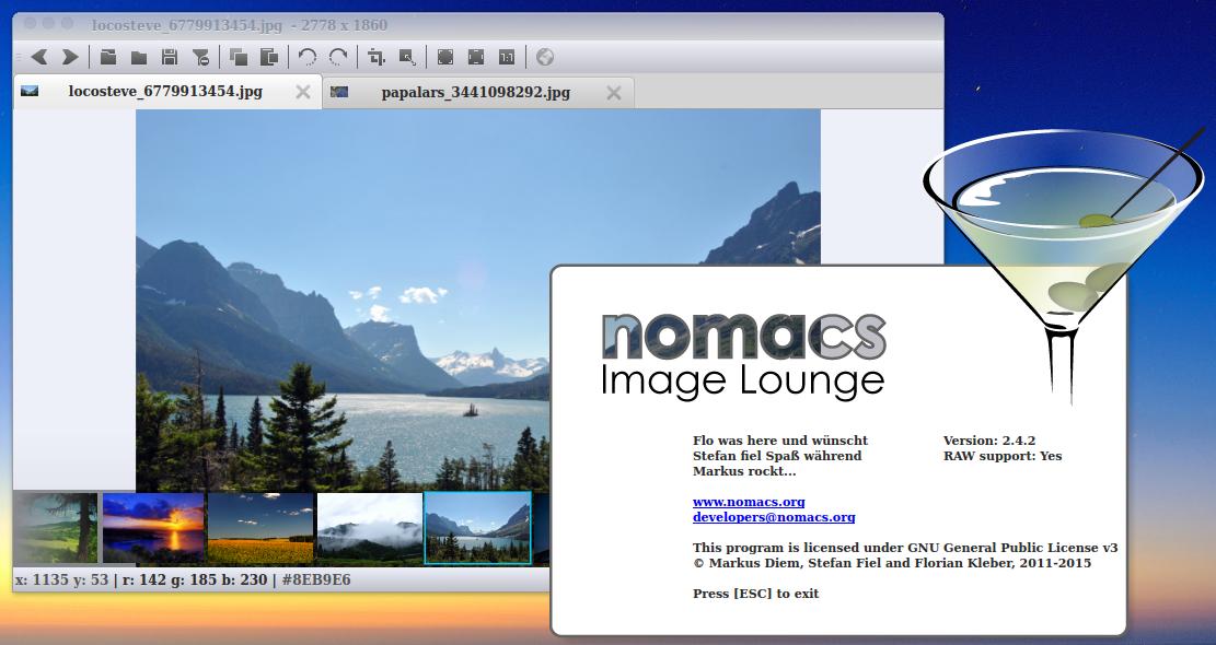 compizomania: Установить Nomacs - программа просмотра и ...