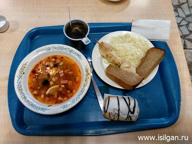 Обед в студенческом общежитии. Москва