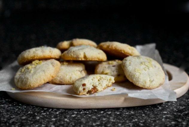 Ореховое печенье из картофельных чипсов