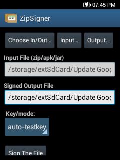 Zip signer v 3 4 nicklas core droid for Input keyword disini perbaris ya