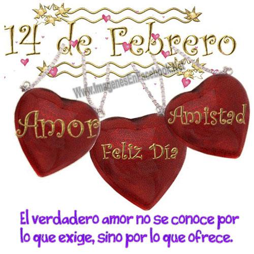 14 de Febrero.. Feliz Dia de San Valentin