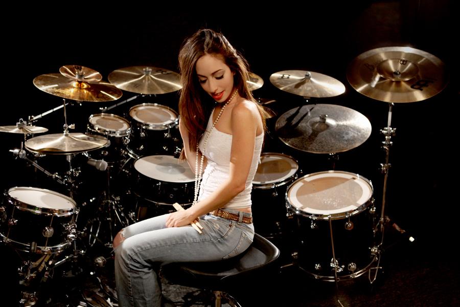 Meytal Cohen, batería femenina machirulos