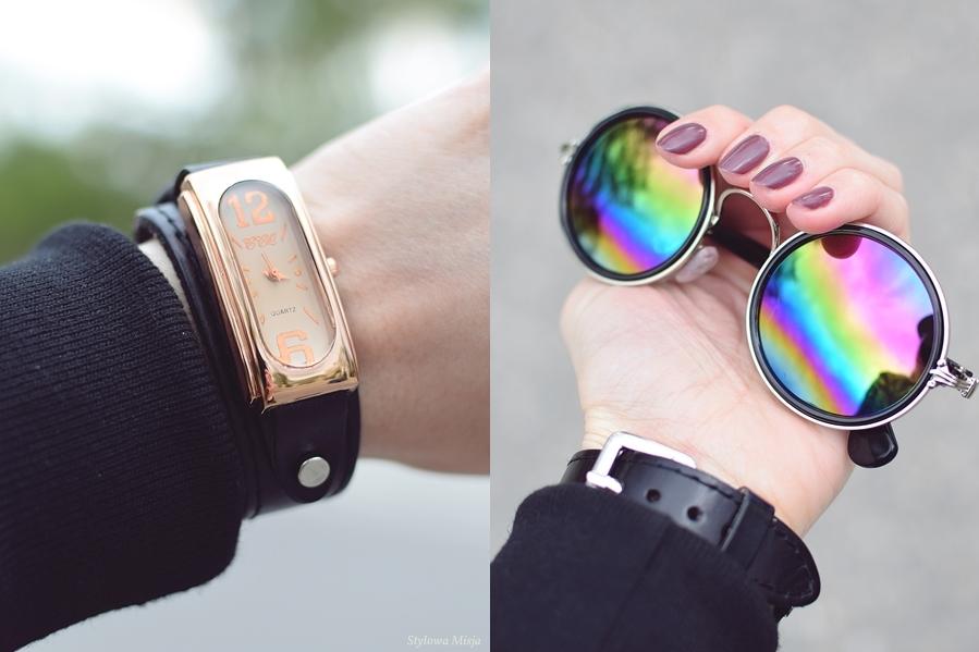 brilu, trampki, moda, grunge, Butik, bomberjacket, okulary, szaleo,