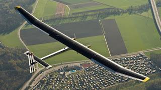 solar plane pilot