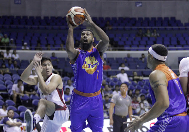 Top 5 Leading scorers for TNT Katropa elimination round 2018 PBA PhilCup