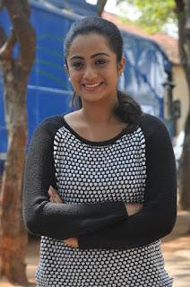 Actress Namitha Pramod Stills on talabbayi sets  0008.jpg
