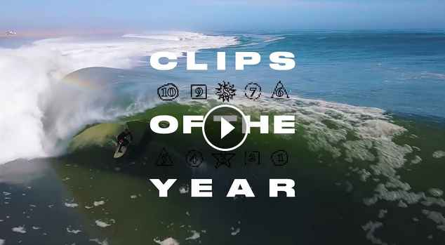 The Surf Clips of 2018 SURFER Magazine